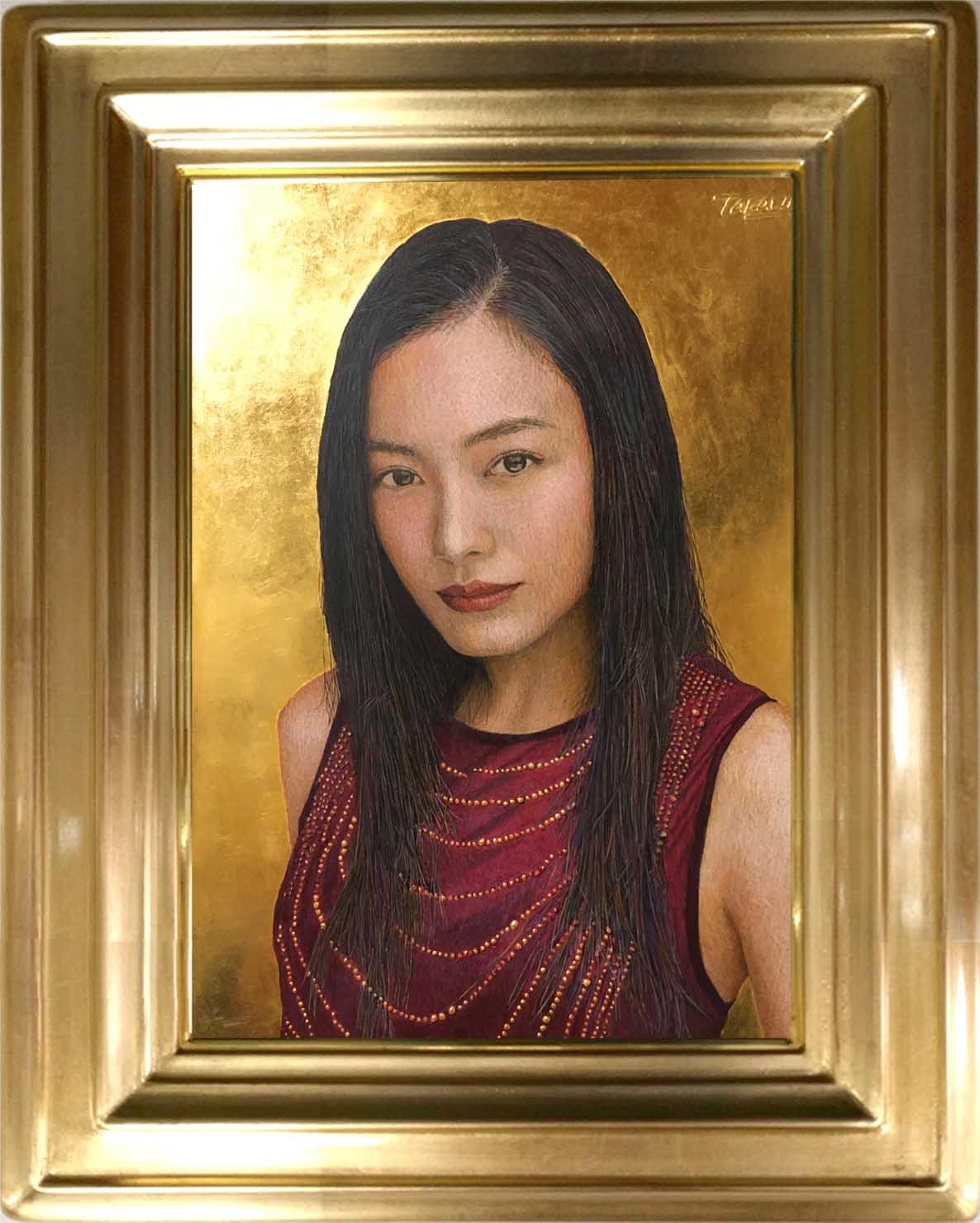肖像画のご依頼|油絵肖像画の注文制作 黄金テンペラ画作成 【肖像 ...
